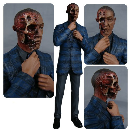Breaking Bad Gus Fring Burned Face Action Figure - Entertainment Earth Exclusive - 1