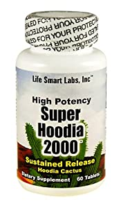 2000 Mg Super Hoodia Time Release Hoodia Diet Pills 2000mg Per 2 Cap Serving from Super Hoodia 2000