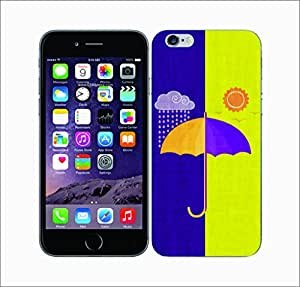 Galaxy Printed 2529 Opposites Rainshadow Hard Cover for Apple Iphone 6 Plus