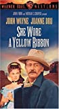 She Wore a Yellow Ribbon [VHS]