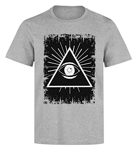 All-seeing-eye-Illuminati-graphic-Mens-T-Shirt