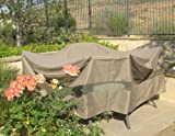 Patio Set Covers 96&quot; Dia. Fits square, oval and round Table set, Center hole for Umbrella.