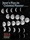 img - for Janet's Plan-its Celestial Planner 2014 Astrology Calendar book / textbook / text book