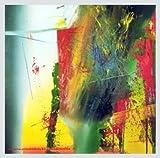 Gerhard Richter D.G. Poster Kunstdruck mit Alu Rahmen in Silber Natur