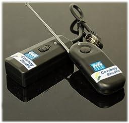 CowboyStudio Wireless Radio Shutter Release with 300 ft range for Nikon Fuji SLR Cameras- Including D700, D300, D200, D3, D2, D2H, D2Hs, D2X, D1, D1h, D1x & Fuji S3, S5, UVIR
