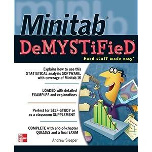 Minitab Demystified Livre en Ligne - Telecharger Ebook