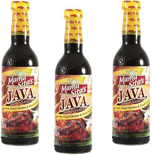 Mama Sita'S Java BBQ Sauce 14.46Oz Pack Of 3