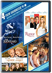 Kevin Costner Collection: 4 Film Favorites (The Bodyguard / Rumor Has It... / The Upside of Anger / Tin Cup) (Bilingual) [Import]