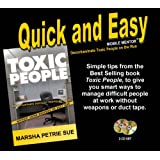 Toxic People Mobile Mentor audio book ~ Marsha Petrie Sue