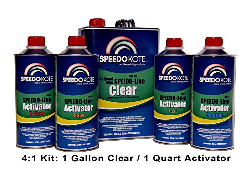 speedokote-smr-130-75-k-m-automotive-clear-coat-fast-dry-2k-urethane-41-gallon-clearcoat-kit-w-mediu