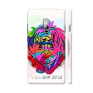 Colorpur APJ Abdul Kalam Painting In Multicolor Designer Mobile Phone Case Back Cover For OnePlus 2 | Artist: Designer Chennai