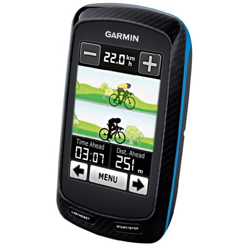 Garmin Edge 800 Touchscreen GPS Bike Computer bundle with bike mounts, HRM, Speed/Cadence Sensor - Note: European basemaps only on this unit!