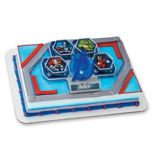 Decopac Avengers Classic Avengers Unite DecoSet Cake Topper