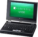 """東芝libretto U100/190DSB (P-M733,256MB,7.2""""TFT,DVD-SuperMulti,無線LAN ) [PAU100190DSB]"""