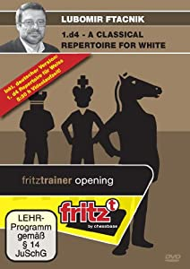 1.d4 - a Classical Repertoire for White, Chess Software DVD