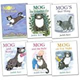 Judith Kerr Mog the Cat Pack, 6 books, RRP £35.94 (Mog And Bunny; Mog And The Baby; Mog On Fox Night; Mog in the Dark; Mog the Forgetful Cat; Mog's Bad Thing).