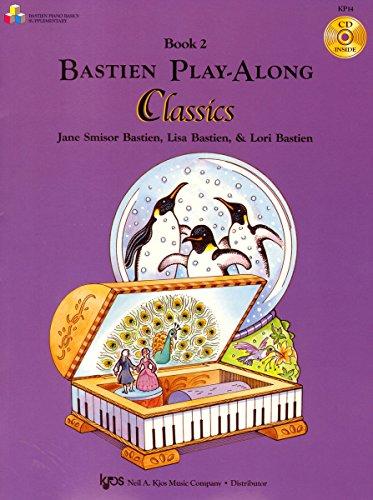 Bastien Play-Along Classics Bk.2 P CD