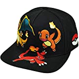 Nintendo-Fire-Pokemon-Charmander-Evolution-Charizard-dibujos-animados-Snapback-Cap
