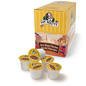 Van Houtte Spicy Mayan Chocolate K-cups For Keurig Brewers 24-count Boxes Pack Of 2 by Van Houtte