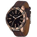 Romanio Analog Antique Copper Men's Watch-AL0011