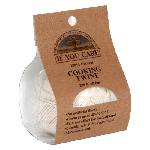 If You Care, Twine Cooking Ntrl 200Ft, 1 Ea (Pack Of 24)