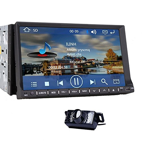 1-Din Digital Media Bluetooth AM//FM//MP3//USB//SD Receiver For 1999-02 Honda Accord