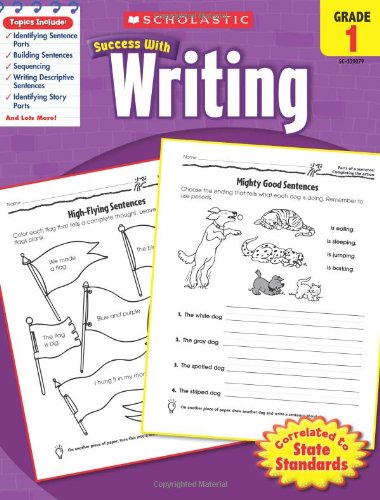 Scholastic Success with Writing, Grade 1 PDF