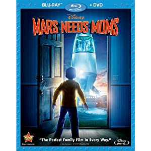 Mars Needs Moms [Blu-ray]