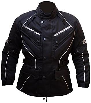 Protectwear WCJ-101-66 Blouson Moto Textile WCJ 101, Noir, Taile 7XL