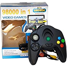 Fleejost 98000 In 1 Instant TV Video Games - Plug In TV And Play