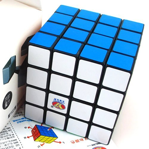 YJ ShenSu 4x4x4 Black Speed Cube Puzzle Twisty