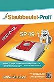 20 Sacs d'aspirateur pour Philips FC 8450/01, FC8454/01, FC8452/01, FC8455/01, FC8912/01, FC8916/01, HR6988 - de la marque Staubbeutel-Profi® (aspirateurs professionnels) Made in Allemagne