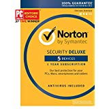 Norton Security Deluxe - 5 Devices [Key Card]