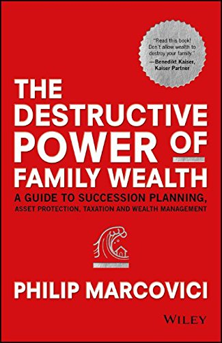The Destructive Power of Family Wealth: A Guide to Succession Planning, Asset Protection, Taxation and Wealth Management (The Wiley Finance Series) (Personal And Family Finance compare prices)