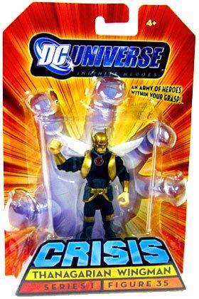 Picture of Mattel DC Universe Infinite Heroes Crisis Series 1 Action Figure #35 Thanagarian Wingman (B001UCVIGM) (Mattel Action Figures)