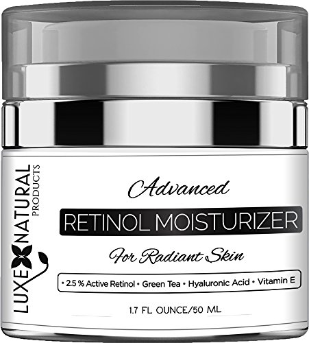 Luxe Natural Products Retinol Moisturizer For Face, 1.7 Fl Ounce (All Natural Products compare prices)