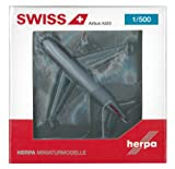 Herpa 524162 Swiss International Airlines Airbus A320 HB-JLS 1:500 Diecast Model