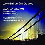 Vaughan Williams:Symphonies Nos. 4 & 8 [Ryan Wigglesworth; Vladimir Jurowski, London Philharmonic Orchestra ] [LPO: LPO-0082]