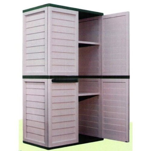 6ft Waterproof U0026 Lockable Garden Storage Cabinet / Shed