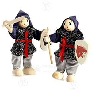Traditional toys : Childrens Battle Knight Soldiers (1 per purchase)