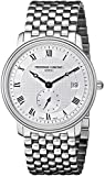 Frederique Constant Mens Slim Line Date FC-245M4S6B Stainless Steel Watch