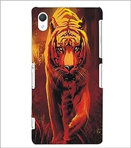 SONY XPERIA Z2 TIGER Designer Back Cover Case By PRINTSWAG