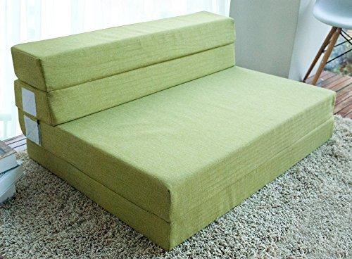merax 4 inch memory foam folding mattress and sofa guest sofa z bed sleeping mattress queen. Black Bedroom Furniture Sets. Home Design Ideas