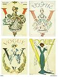Vogue Vintage Covers Pop Art Poster Print Multi Millinery (PDP 023)