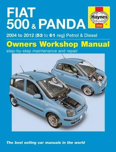 Fiat 500 Amp Panda Petrol Amp Diesel 04 12 Haynes Service And