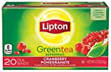 Lipton Green Tea Superfruit, Cranberry Pomegranate 20 ct