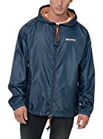Geographical Norway Chaqueta Impermeable Breton (Azul Marino)