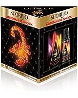 Scorpio Coffret 2 Produits Adrenaline Shock Eau de Toilette Flacon de 75 ml + Déodorant Atomiseur 150 ml