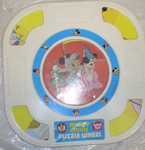 Cheap Fun Disney Vintage Mickey & Minnie Mouse Puzzle Wheel (B004NLQON4)