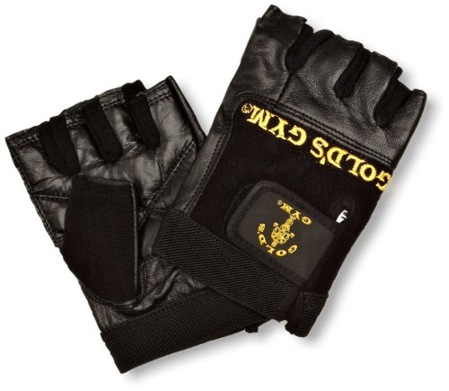 Gold's Gym Weight Lifting Glove - Black, Large